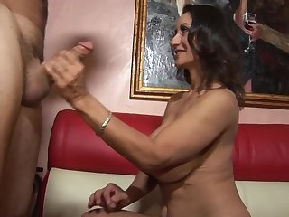 Persia Monir is a stunning MILF fucked by a gung-ho stallion
